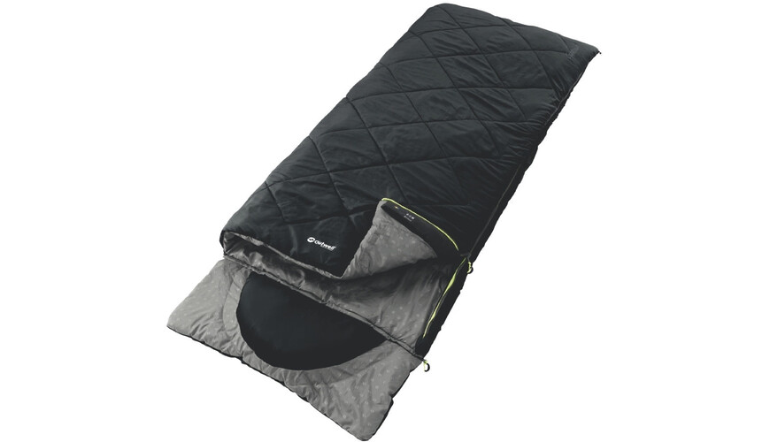 Outwell Contour Sleeping Bag Black